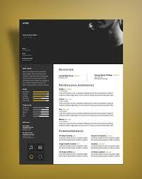 curriculum vitae cv design template for designers psd file curriculum vitae cv designtemplate psd file 3