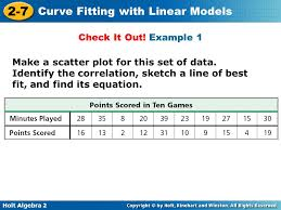 Vocabulary regression correlation line of best fit - ppt video ...