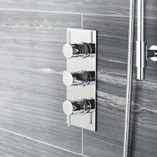 image for quev56 ultra quest triple concealed thermostatic shower valve with diverter