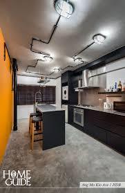 interior design lighting. Industrial Interior Lighting. Kitchen Design At Ang Mo Kio Ave 1 Hdb. Lighting