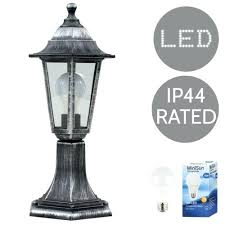 led lamp post light traditional vintage style led outdoor garden lamp post light lantern lights brushed