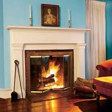add glass fireplace doors 17 fireplace upgrades this old house adding a fireplace