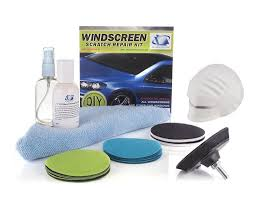 com windshield scratch repair and polishing diy kit for wiper blade damage surface marks and scratches automotive