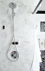 marble hexagon tile for the shower carrara canada tiles bathroom ideas