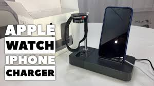 This charging stand offers 7.5w fast charging for iphone, 10w to samsung phones and 5w to huawei phones. Apple Watch Earpods Iphone Aluminum Wireless Charger Stand Holder Review Youtube