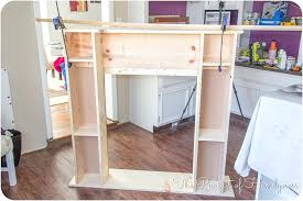 how to build a faux fireplace build fake corner fireplace build fake fireplace