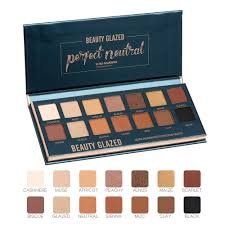 <b>Beauty Glazed Shimmer Matte</b> Eyeshadow Palette 14 Colors Soft ...
