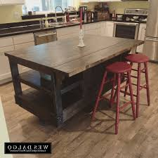 Rustic Kitchen Cart Island Movable Islands For Kitchen Cart Island Oak Wood Portable Kitchen