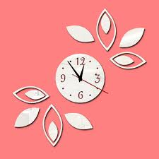 china room decor embellishment art acrylic sheet 3d wall clocks with mirror china acrylic sheet 3d wall clocks