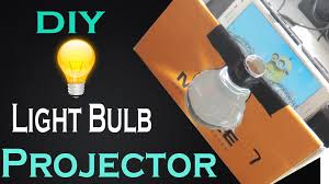 picture of diy make light bulb smart phone projector at home easy way