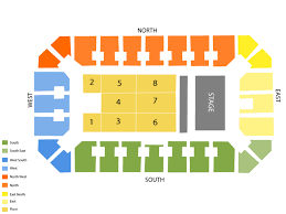 Stampede Corral Seating Chart And Tickets