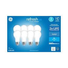 Hue Light Bulbs Lowes 22 98 Lowes Ge Refresh 60 Watt Eq Daylight Dimmable