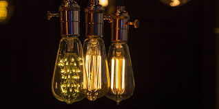 lighting for your home. perfect your vintage lighting showing the filaments and lighting for your home