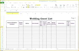 Printable Wedding Guest List Template Amazing Printable Wedding Guest List Two Handy Templates To Keep Track Of