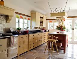 traditional kitchen antique cabinetry
