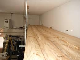 lumber rack over garage door
