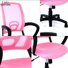 desk chairs modern adjule mesh executive office computer desk chair lift swivel armrest pink childrens
