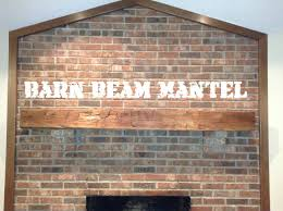 How to Install a Fireplace Barn Beam Mantel - French Cleat - YouTube