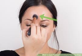 image led apply makeup according to your face shape step 5