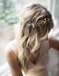 Gold Boho Forehead Hair Halo Bridal Beaded Hair Vine Silver Hair Wreath Wedding Pearl Hair Vine Boho Wedding Headpiece Eden Usd By Lottiedadesigns