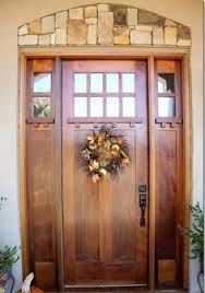 pictures of front doorsExterior Doors  craftsman style fir textured fiberglass door with