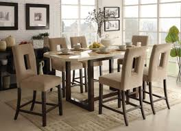 Tall Round Kitchen Table High Kitchen Tables Awesome Minimalist Dining Room Round Glass Top