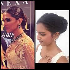 Hair Style Low Bun hairstyle deepika padukone iifa 2016 hairstyle tutorial low 4075 by wearticles.com