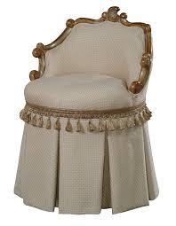 luxury leather u0026 upholstered furniture swivel vanity stool high end furniture swivel vanity chair29