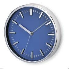 wallclock largean af blue largewallclock an awesome blue and white wall clocks