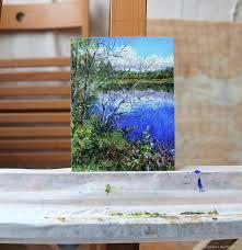 small oil painting tatiana chepkasova ping on