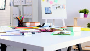 tidy office. 5 Office Hacks To Declutter Your Workspace Tidy