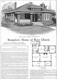 Craftsman Style Bungalow Kit House   Gordon Van Tine   Model     Gordon Van Tine   No