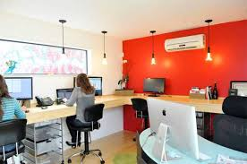home office cabins. cabin room design and decor with red wall home office cabins