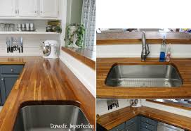 Ikea Wood Countertop Review Kitchen Butcher Block And Wood Countertops Countertop Diy Ikea