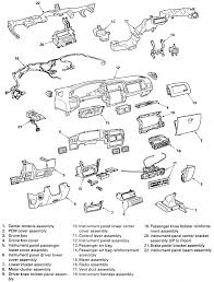 12 dash assembly and ponents 1995 96 rodeo