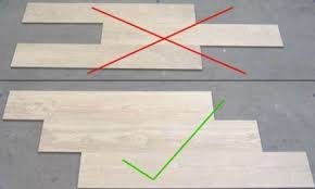 wood tile flooring patterns. Beautiful Flooring Laying Of Tiles In A Brick Or Running Bond Pattern Should Also Be Carefully  Considered Because Potential Lipping Caused By The Curvature Large Format  On Wood Tile Flooring Patterns E