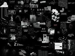 shade grunge collage laptop wallpaper ...