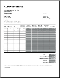 Excel Sales Invoice Template Sales Commission Excel Template Download By Sales Commission Tracker