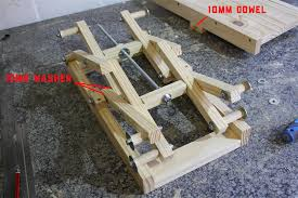the last step of the diy scissor lift assembly process will start by turning the adjustment rod 10mm rod o to a point where it would allow the scissor