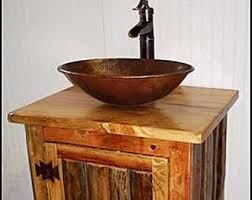 bathroom sink without vanity. rustic log bathroom vanity - ms1373-25 pump faucet 25\ sink without
