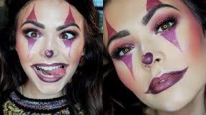 cute clown makeup tutorial