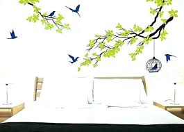 bird wall decal tree and bird wall decals tree and bird wall decals and nature vinyl bird wall decal