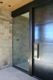 modern glass entry doors glass and steel front door design ideas home improvement doors modern front modern glass entry doors