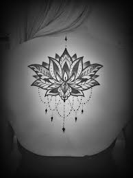 photo of darling tattoo portland or united states henna style lotus flower