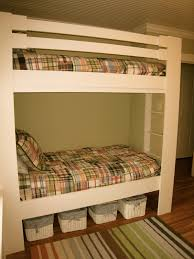 Built In Bunk Beds Bedroom White Furniture Cool Bunk Beds Built Into Wall Triple Twin