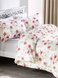 poppy garden printed bedding collection red previousnext