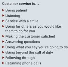 Definition Of Good Customer Services Customer Service Setting Expectations Davidcorp