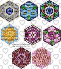 Brick Stitch Patterns Fascinating Mandala Brick Stitch Patterns Beadwork Pinterest Brick Stitch