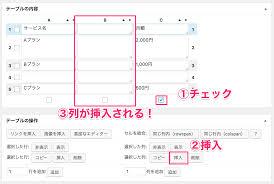 ワードプレスでおしゃれで見やすい表を作る為のプラグインtablepressの