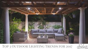 home lighting trends. Outdoor Lighting Trends For 2017 Home